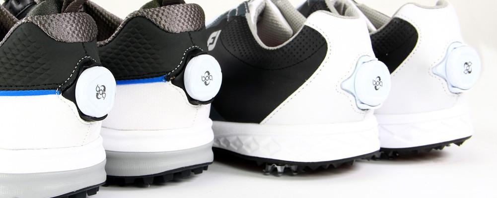 nouveau pas cher promotion spéciale gamme exceptionnelle de styles et de couleurs Chaussures de golf homme avec système Boa/Disc ...